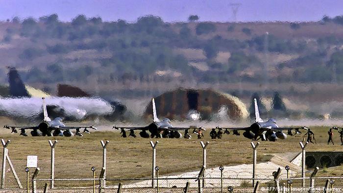 Военная база Инджирлик в Турции