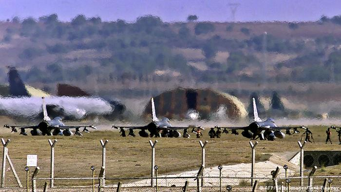 خبرهای ضد و نقیض درباره استفادهی آمریکا از پایگاه هوایی اینجرلیک در ترکیه