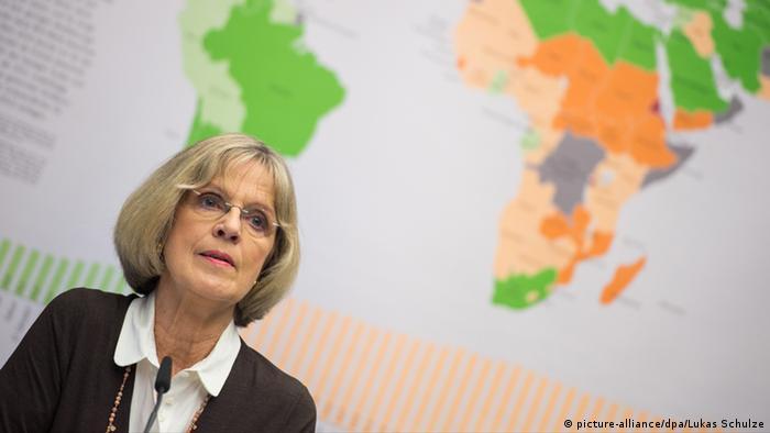 Bärbel Dieckmann, presidente da Ação Agrária Alemã