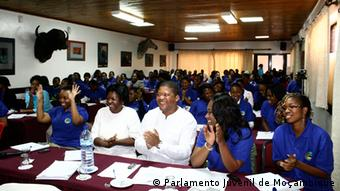 Mosambik Sitzung Jugendparlament