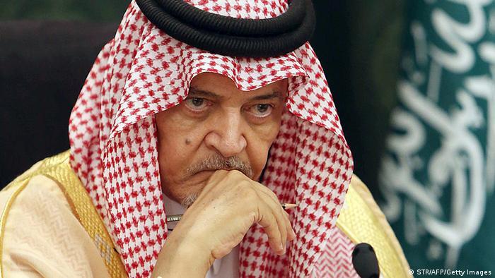 Saudi-Arabien Deutschland Frank-Walter Steinmeier bei Saud al-Faisal in Djiddah
