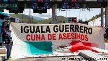 Studentenproteste in Mexiko ARCHIV 07.10.2014
