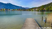 Lake Tegernsee in Bavaria (Fotolia/Wolfilser)