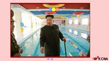 Screenhot Kim Jong Un mit Stock