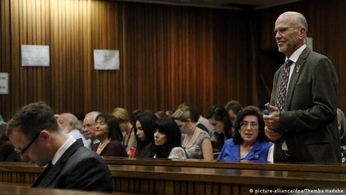 Oscar Pistorius Gerichtssaal Pretoria