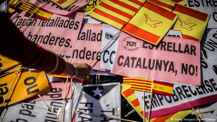 Spanien Katalonien Referendum Demonstrationen