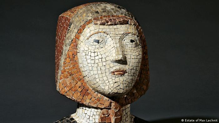Max Lachnit's Trümmerfrau (The Rubble Woman)