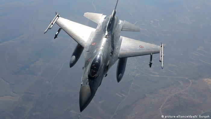جت جنگنده اف۱۶ ترکیه (عکس از آرشیو)