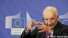 Edmund Stoiber in Brüssel über Bürokratieabbau