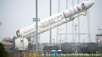Елементи конструкції першого ступеня ракети Antares (на фото) виготовляються в Дніпропетровську