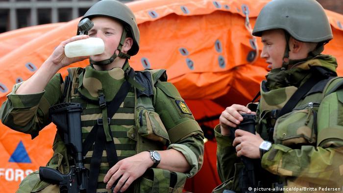 Norwegen Soldaten 2011