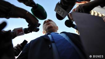 Bulgarien Politik Partei GERB Boyko Borissov
