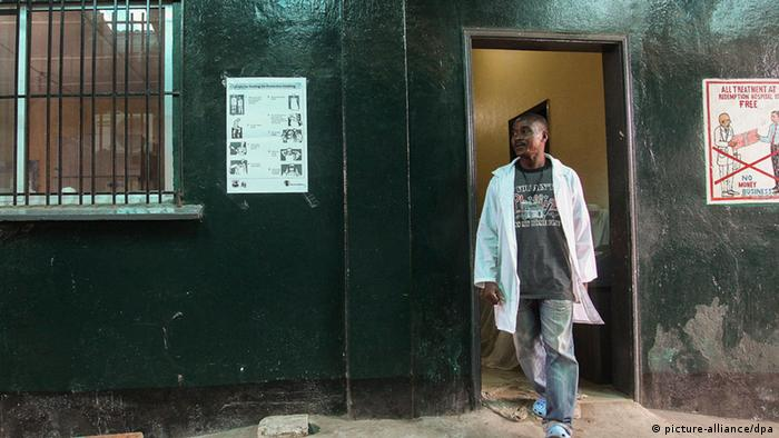 Redemption Hospital in Monrovia