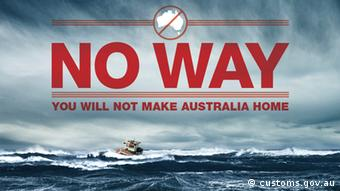 Flyer - Australien No Way