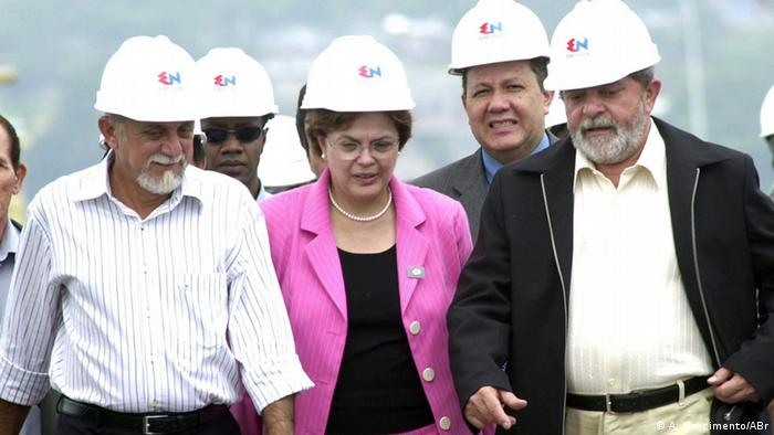 Brasilien - Dilma Rousseff im Jahre 2004