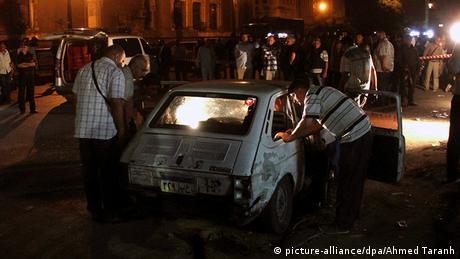 Kairo Autobombe Explosion 14.10. Ägypten