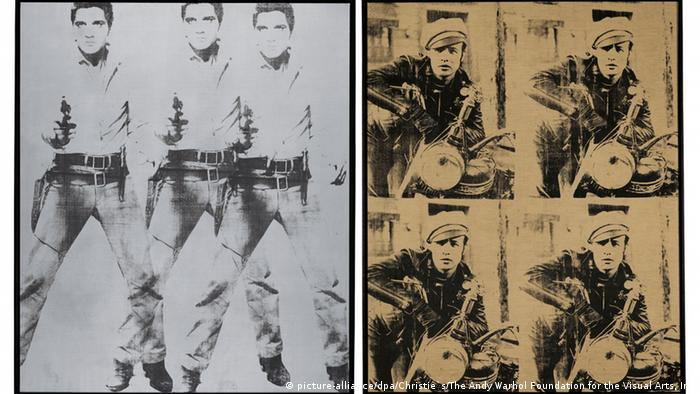 Andy Warhol's Triple Elvis Four Marlon, Copyright: picture-alliance/dpa/Christie`s/The Andy Warhol Foundation for the Visual Arts, Inc