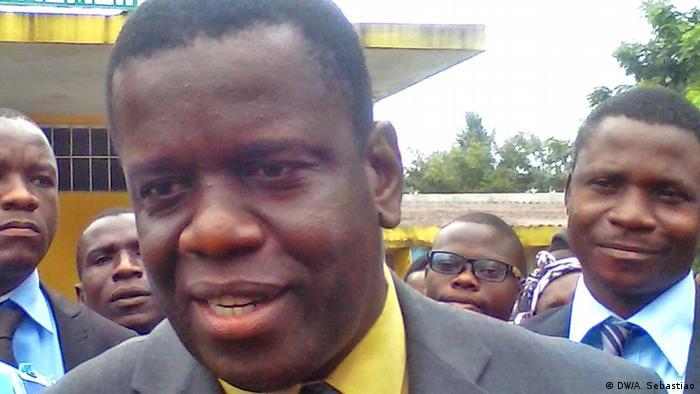 Daviz Simango, líder do MDM, a segunda maior força da oposição em Moçambique
