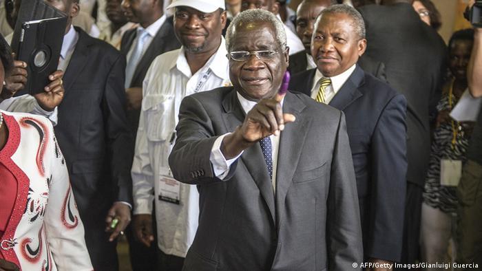 Wahlen Mosambik 15.10.2014 Afonso Dhlakama