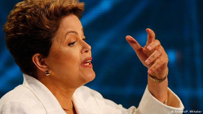 Brasilien Präsident Wahlen Wahlkampf Fernsehduell Dilma Rousseff