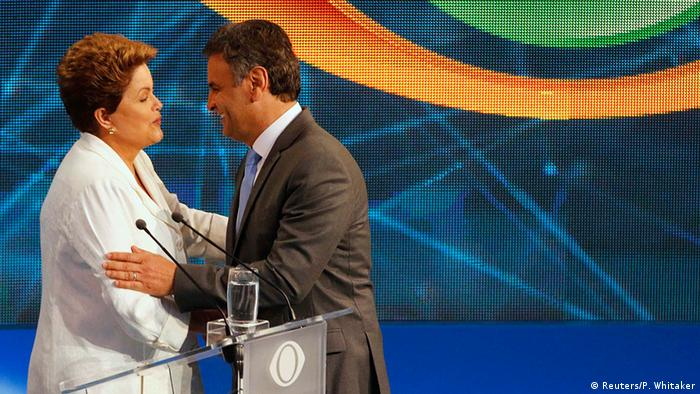 TV duel Dilma Rousseff i Aecio Neves