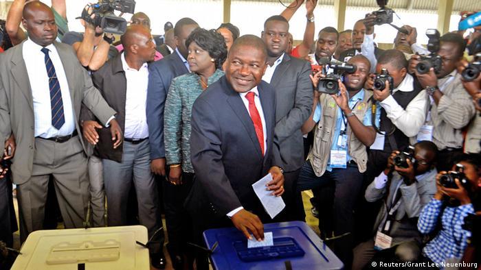 Wahlen Mosambik 15.10.2014 Filipe Nyusi