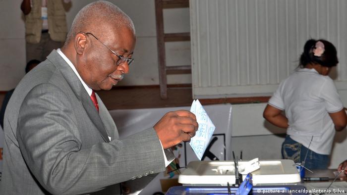 Wahlen Mosambik 15.10.2014 Armando Guebuza