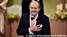 Arvo Pärt Komponist bekommt den Praemium Imperiale Preis in Tokio 15.10.2014