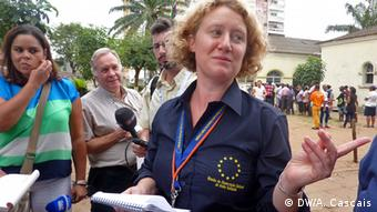 Mosambik Judith Sargentini EU Wahlbeobachterin in Maputo