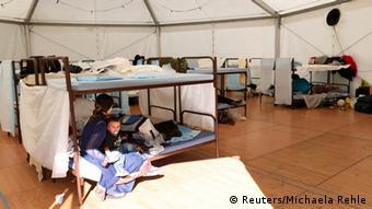Zentrum für Asylbewerber in München 10.10.2014
