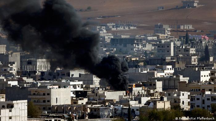 Kämpfe um Kobane 15.10.2014