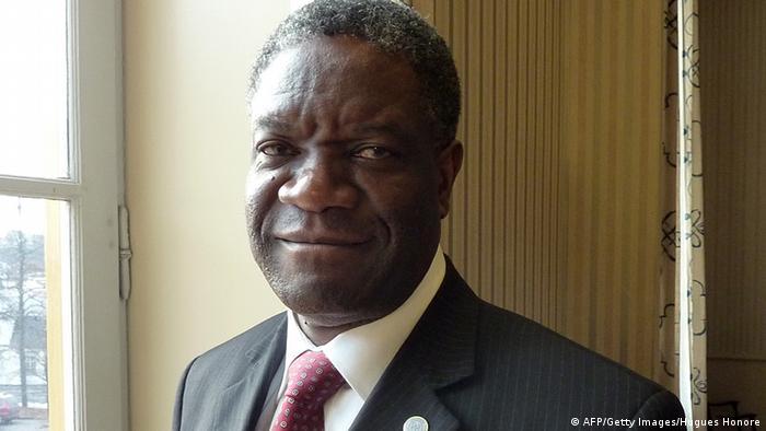 Denis Mukwege, daktari wa wanawake kutoka Jamhuri ya Kidemokrasi ya Kongo