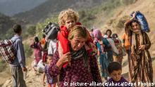 Jesidische Flüchtlinge im Irak 20.08.2014
