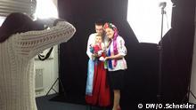 Volontäre im ukrainischen Konsulat in München