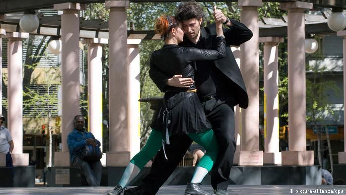 Bildergalerie Tanzen Tango (picture-alliance/dpa)