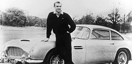 James Bond in Goldfinger (Foto: Archiv)