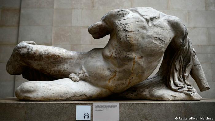 Bildergalerie Parthenon Rückgabe (Reuters/Dylan Martinez)