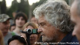 Beppe Grillo Parteichef 10.10.2014 Rom