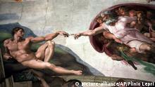 Sixtinische Kapelle Michelangelo Die Erschaffung Adams