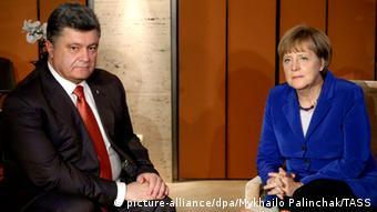 ASEM Gipfel Mailand 16.10.2014 Merkel Poroschenko
