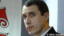 Auf den Bildern ist der früherer politischer Häftling Pawel Sewerinez (Pavel Severinets) zu sehen. 16-10-2014. Copyright: Korrespondentin in Minsk Elena Danejko