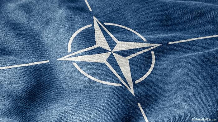 Symbolbild NATO Sicherheitspolitik Flagge