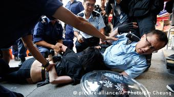 China Hongkong Proteste Demonstranten Verhaftung
