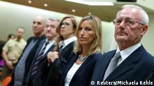 Perkovic und Mustac im Gerichtssaal in München 17.10.2014