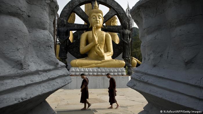 Thamkrabok monastery, Thailand (Photo: NICOLAS ASFOURI/AFP/Getty Images)