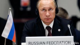 Ο Βλάντιμιρ Πούτιν υποστηρίζει ότι δεν αποτελεί μέρος του προβλήματος.