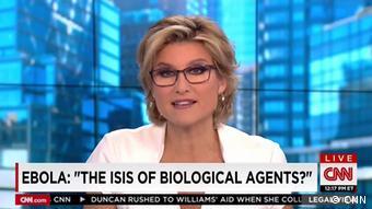 Τον Έμπολα με την ισλαμιστική τρομοκρατική οργάνωσης ISIS παρομοιάζει ρεπορτάζ του CNN