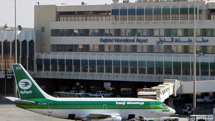 Flughafen in Bagdad Archiv 2008 (picture-alliance/AP Photo/Khalid Mohammed)