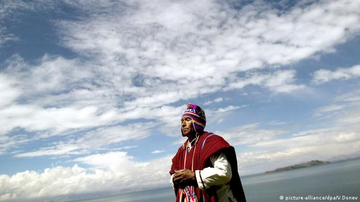 Peruvian Priest (Photo: AP Photo/Felipe Dana)