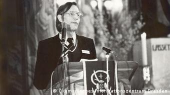 EINSCHRÄNKUNG Kirche in der DDR - Rolle der Kirche beim Untergang der DDR